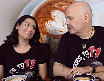 Rick and Paula of Grounds For Divorce Coffee Blog